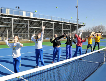 Caesar Rodney High Tennis Courts