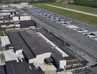 DAFB Air Freight Hangar