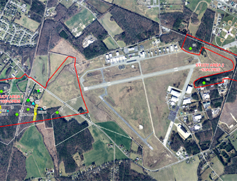 Airport (GED) 4-22 Runway Extension